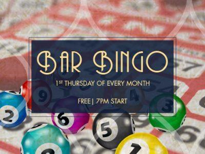 Bar Bingo at The Golden Gate Hotel