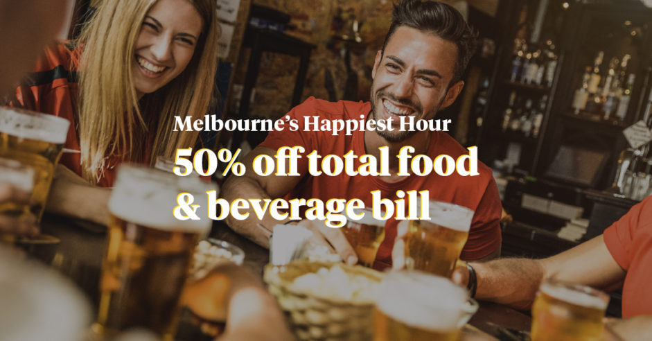 Melbourne's Happiest Hour